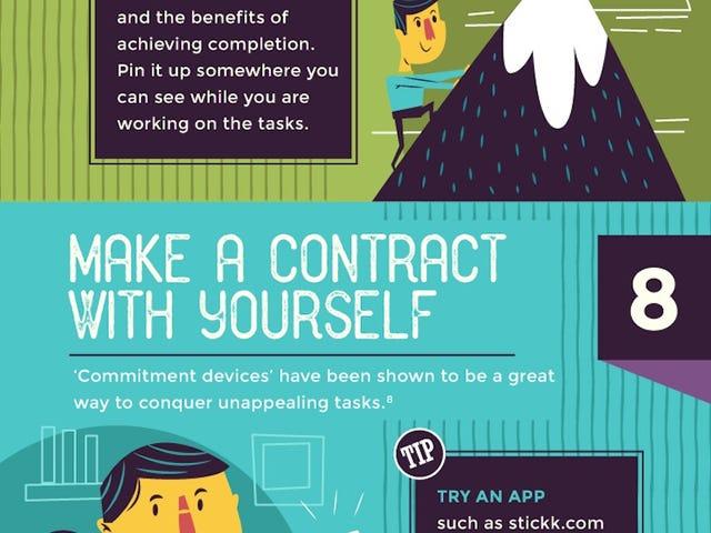 Einfache Möglichkeiten, sich zur Arbeit zu motivieren, wenn Sie es wirklich nicht spüren