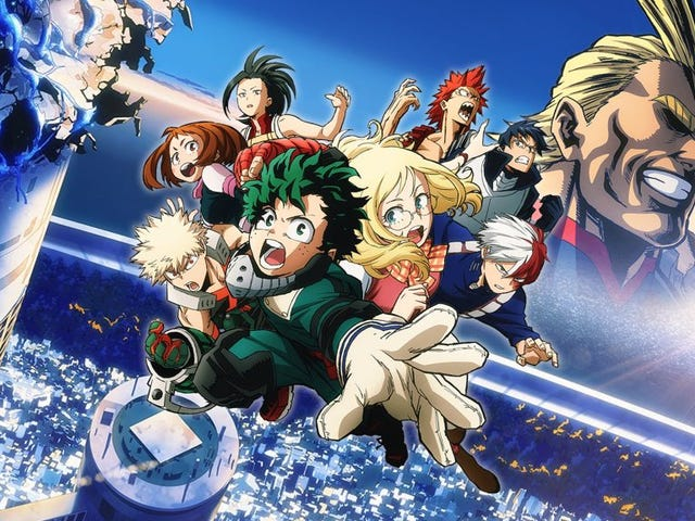 My Hero Academia: Two Heroes A Film for the Fans