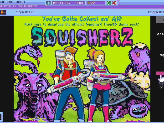A Game That's A Surreal Recreation of the 90s Internet