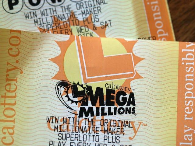 Cuánto sacas en limpio si te tocan mil millones de dólares en la lotería de Estados Unidos