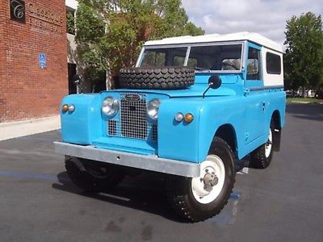 Es un Land Rover 1692
