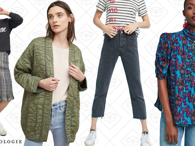 Basically Everything Is On Sale At Anthropologie