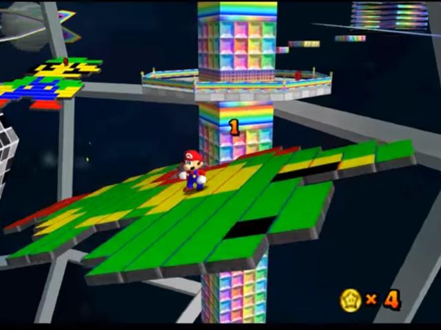 En jätte <i>Super Mario 64</i> Hack som återställer spelet
