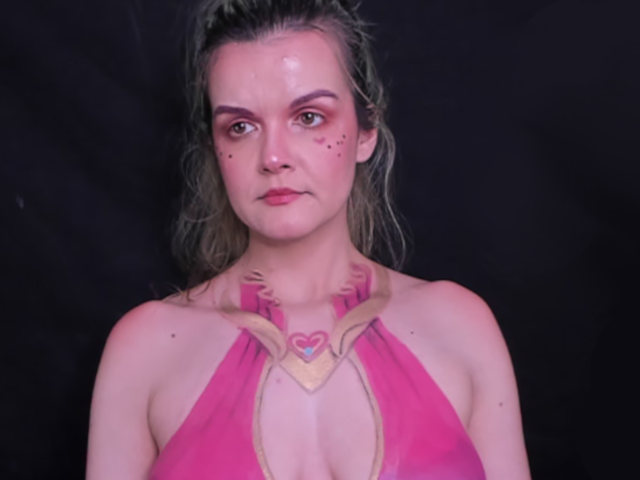 Twitch has reinstated body painting streamer Forkgirl's account after indefinitely suspending it las