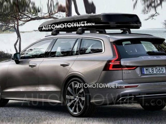 This Is The New 2019 Volvo V60 Before You're Supposed To See It