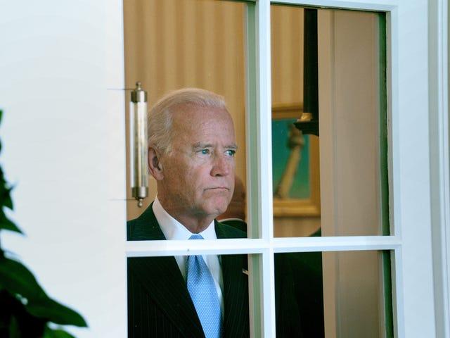 Joe Biden Really Needs to Sit His Ass Down Somewhere
