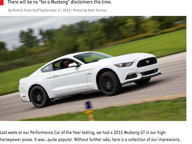 2015 Ford Mustang First This AND That!