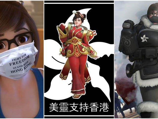 Overwatch Mei Menjadi Simbol Of The Hong Kong Resistance