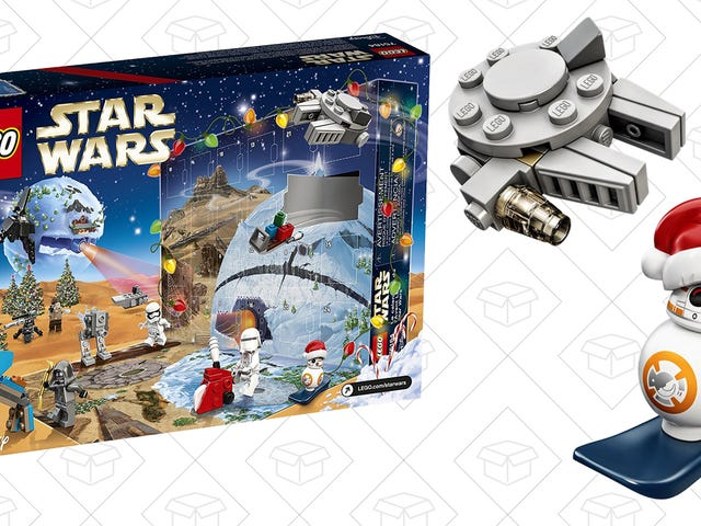 The Perfect Gift For Any Jedi Or Sith Is This LEGO Star Wars Advent Calendar