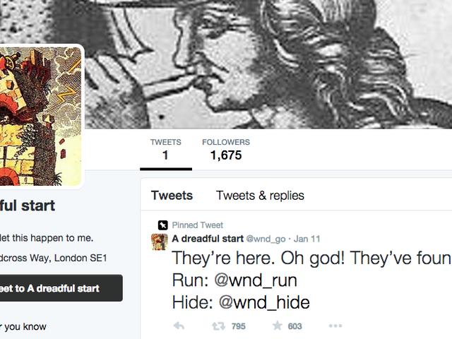 Spela A Creepy Choose Your Own Adventure på Twitter och njut av att dö