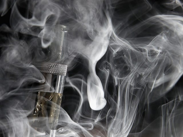 La vapeur d'E-Cig pourrait être cancérogène, selon une étude sur des souris