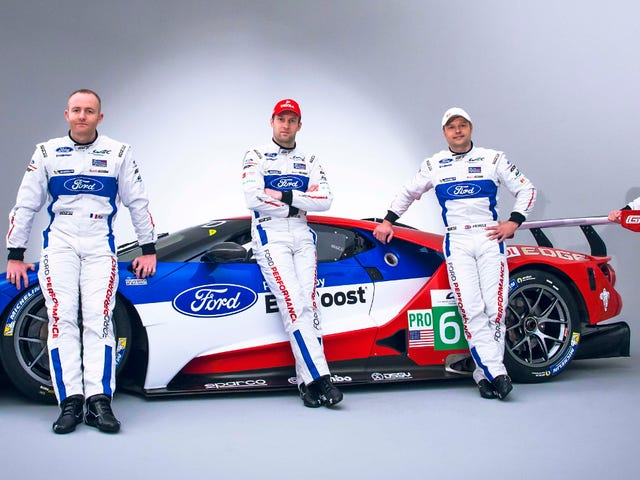 Here Are The Magnificent Lunatics Who Will Pilot The New Ford GT At Le Mans