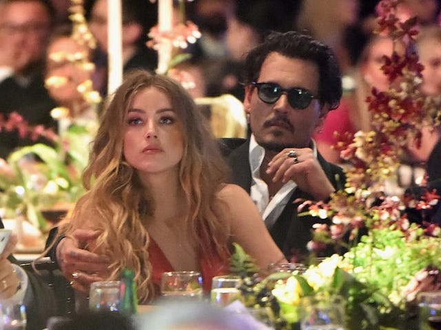 Johnny Depp Is Maybe Using Amber Heard's Charity Donations As a Tax Break