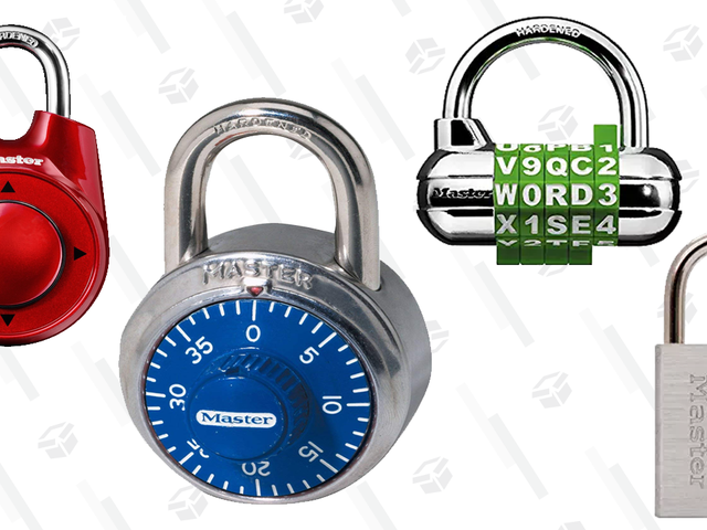 Secure Savings on These Master Lock Combination Locks