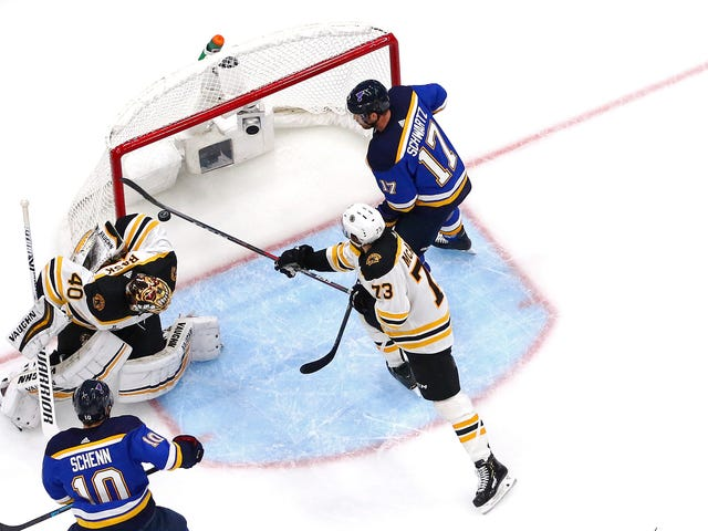 Charlie McAvoy Made The Save Of The Series