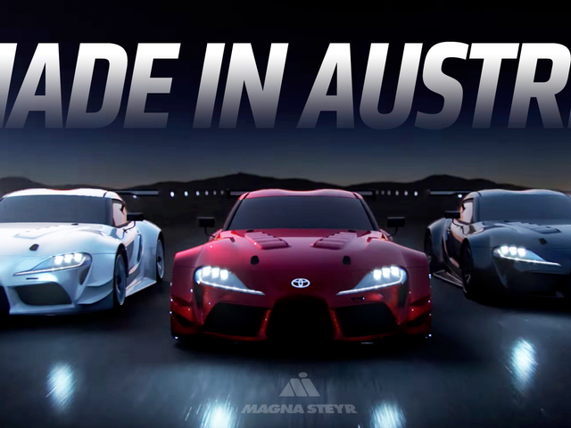 Magna Steyr Could Build The New Supra And BMW Z4: Report