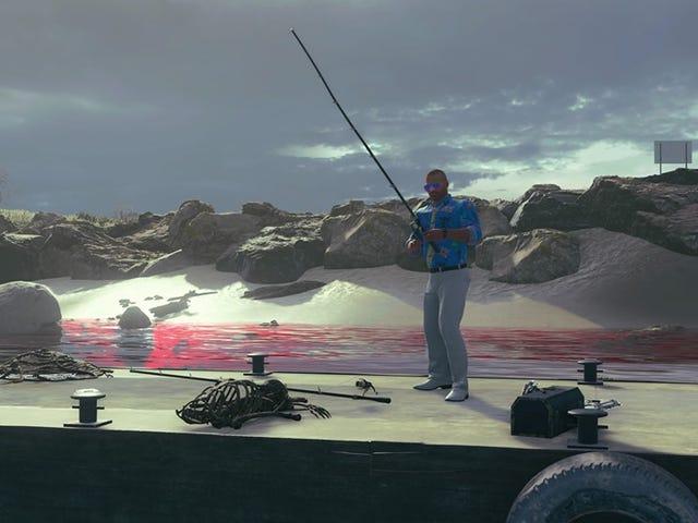 Black Ops 4のバトルロワイヤルモードで釣りに行くことができますが、危険です
