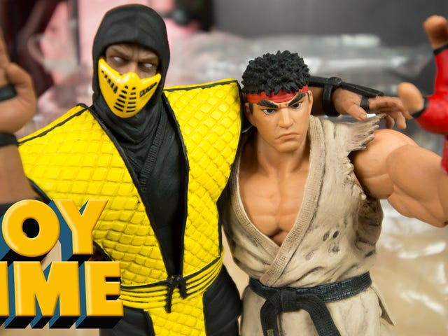 Storm Collectibles' Ryu And Scorpion Figures Are The Best Around