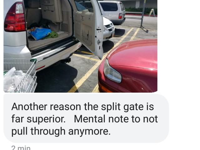 Split gate best gate