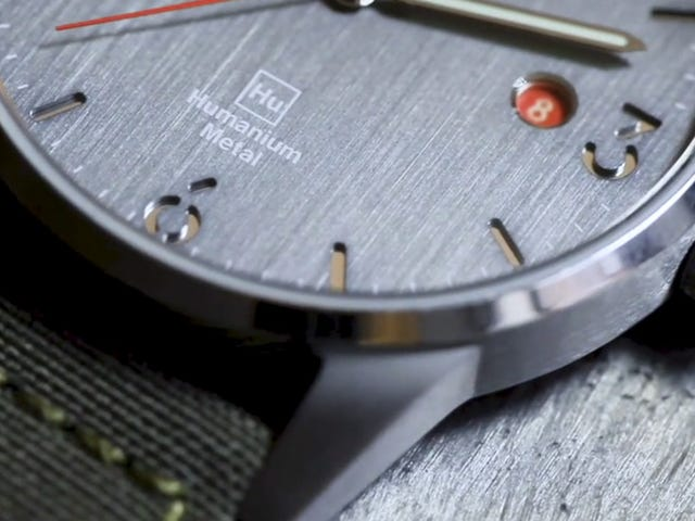 The TRIWA x Humanium Metal Watch is Advancing the Clock to End Gun Violence