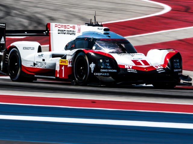 The Porsche 919 Proves It's The Fastest In Its Last Qualifying Run In America