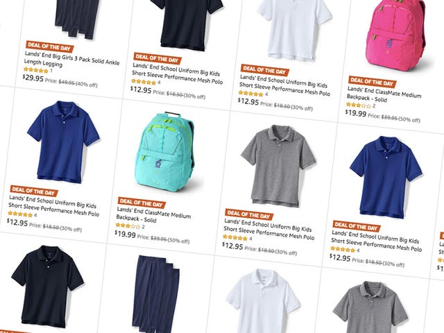 Get Back-to-School Basics For The Kids With This One-Day Lands' End Sale