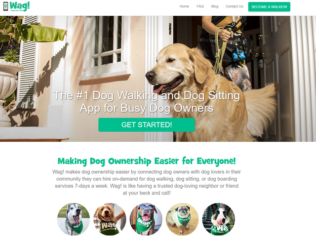 Dog-Walking App Wag, Which Is Kind of Like an Uber for Dogs, Reportedly Loses Another Good Boy [Updated]