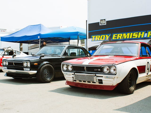 How Many Cars Can You Spot on This 360°Monterey Motorsports Reunion Paddock Ride?