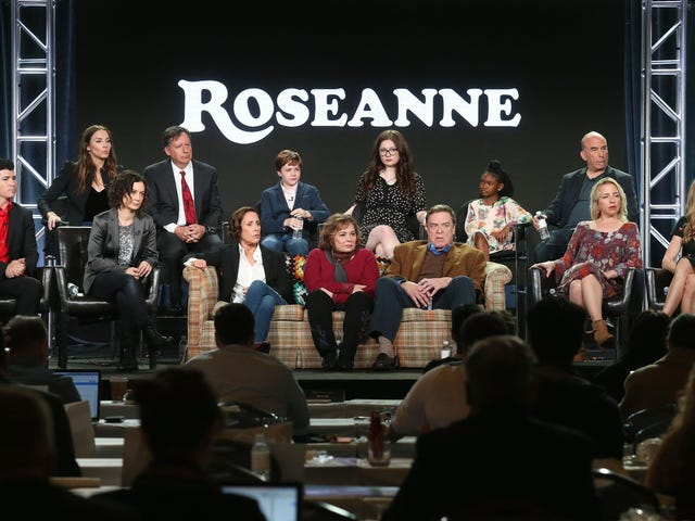 Of Course Trump Called to Congratulate Roseanne on Her TV-Show Reboot—It's Helping to Normalize 'MAGA' Hate