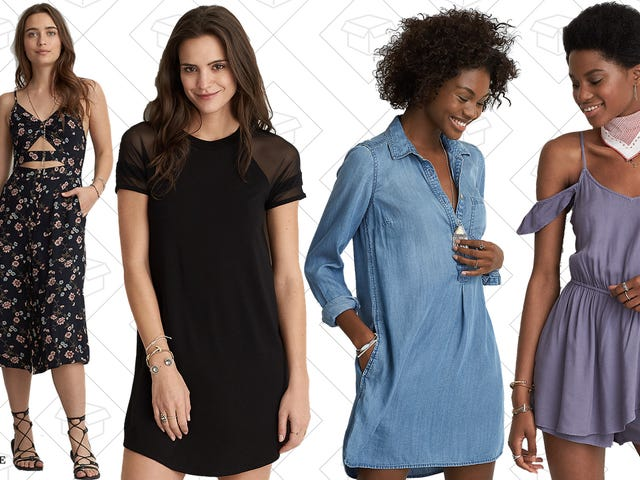 Give Your Legs Some Breathing Room With $25 American Eagle Dresses & Rompers