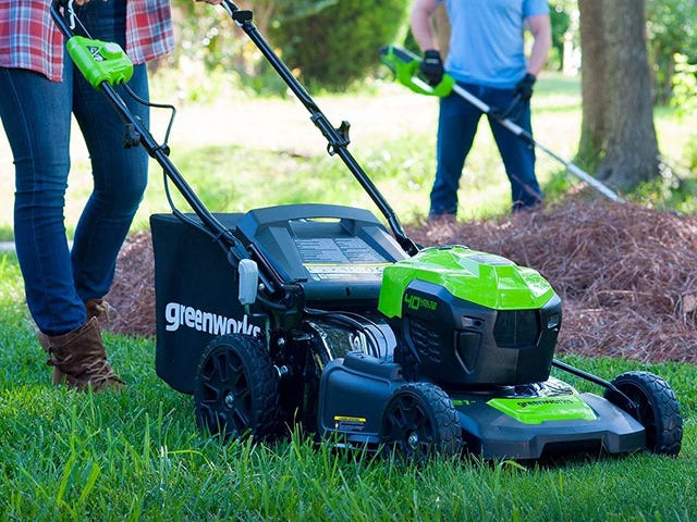 Dream of Spring With This Terrific Electric Lawnmower Deal