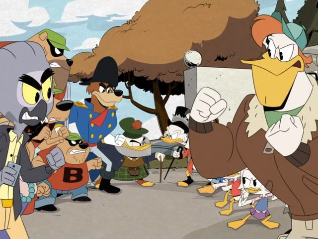 DuckTales–excuse us, GlomTales–gathers a villainous family for sweet, sweet revenge