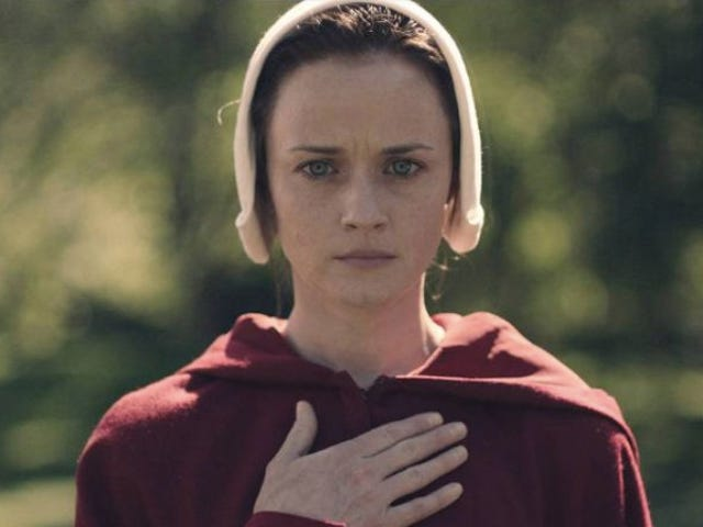 """<a href=""""https://news.avclub.com/alexis-bledel-a-k-a-rory-gilmore-joins-the-handmaid-1798255895"""" data-id="""""""" onClick=""""window.ga('send', 'event', 'Permalink page click', 'Permalink page click - post header', 'standard');"""">Alexis Bledel, a.k.a. Rory Gilmore, joins <i>The Handmaid's Tale</i></a>"""