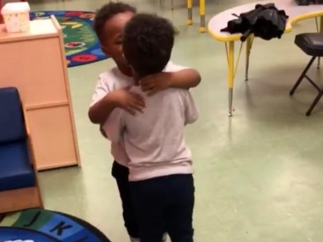 Mother Gets Shamed After Posting Video of Her Toddler Sons Kissing