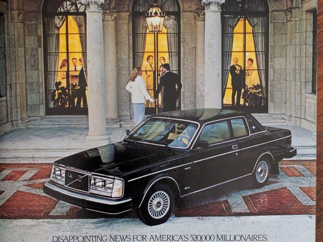 Volvo-curious millionaires, take note!