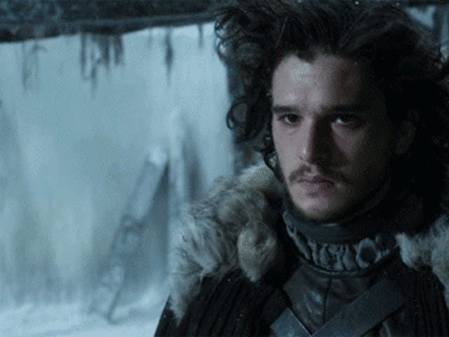 Oh My God Jon Snow Is Getting a Haircut on Game of Thrones