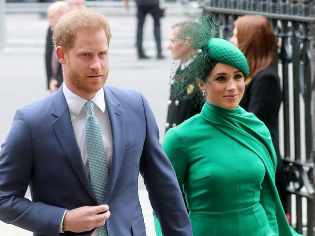 Harry and Meghan Are Breaking Up With the U.K. Tabloids