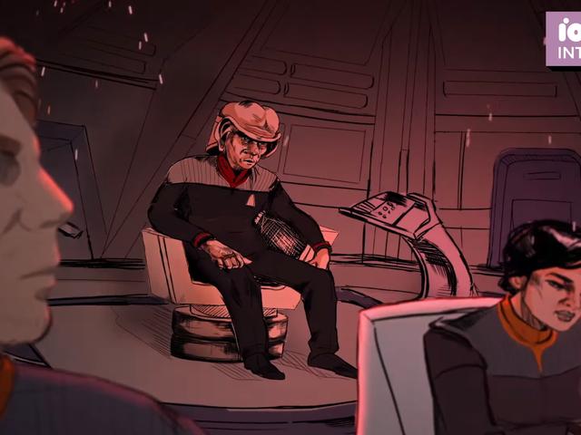 Xem những gì có thể đã mở <i>Deep Space Nine</i> phần 8 trong một clip độc quyền từ <i>What We Left Behind</i>