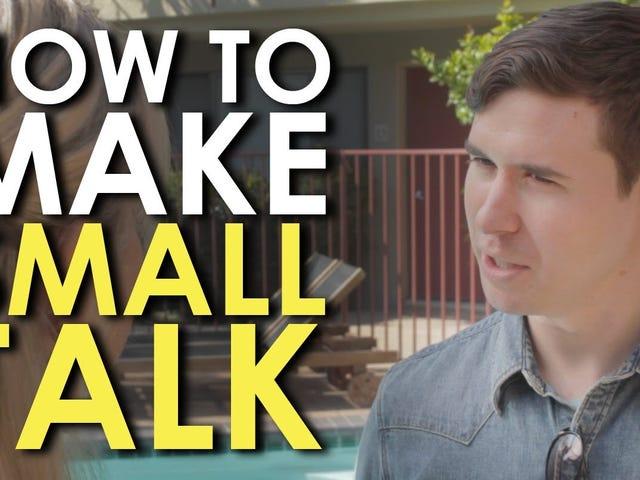 Bu Video, Küçük Konuşma Yapma Temel Bilgilerini Öğretti
