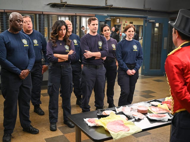 "With ""The Jimmy Jab Games II,"" Brooklyn Nine-Nine returns to the high-stakes world of having fun with friends"