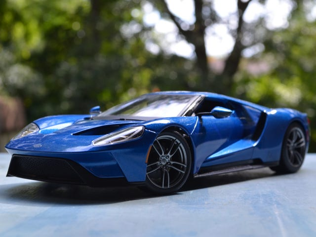 LALD Car Week Day 3: 1/18 Liquid Blue Ford GT