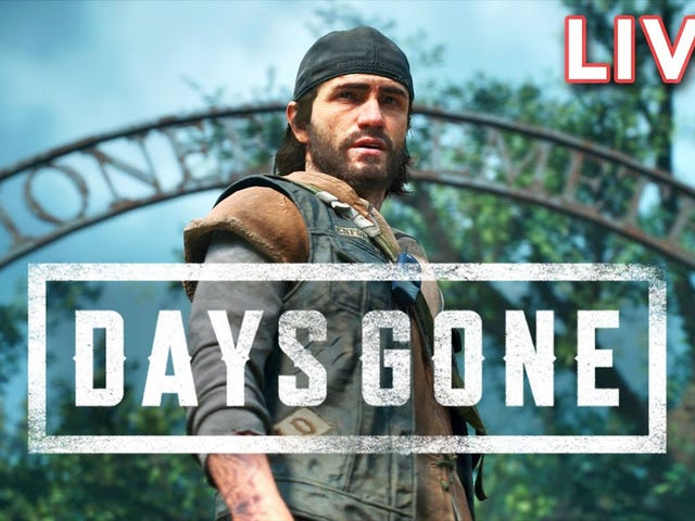 Hvis du savnede os at spille Days Gone live i går, her er YouTube-arkivet