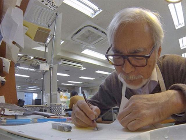 Le nouveau film de Hayao Miyazaki est terminé à 15%