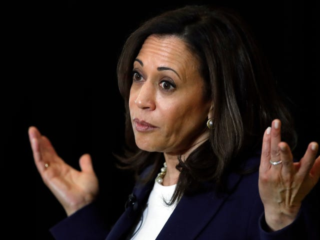 Kamala Harris Says 'We Have to Seriously Take a Look At' Breaking Up Facebook