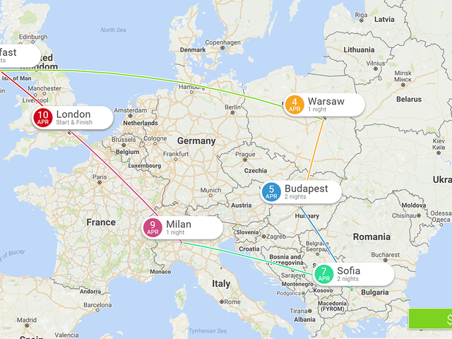 Eightydays Plans a Multi-City European Trip For You