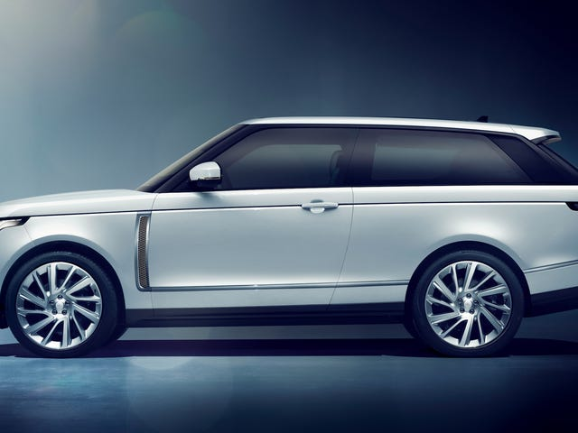 The Range Rover SV Coupe Loses Two Doors For $295,000 But It Looks Incredible