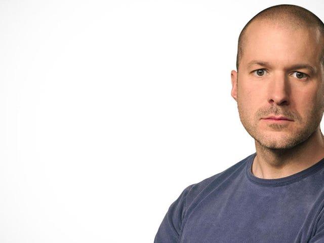 Jony Ive, pelawak dari iPhone dan iPad, menggunakan Apple Apple selama 30 tahun