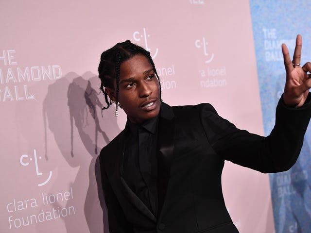 A $ AP Rocky libéré de la garde, pourrait être à la maison dès qu'il attend son verdict