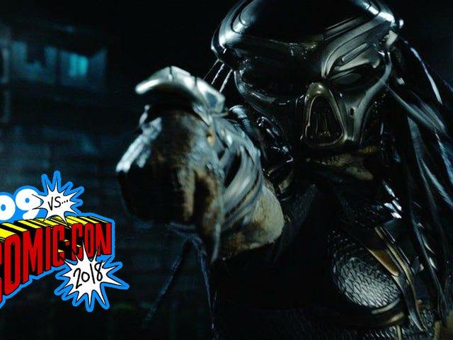 It's Predator Vs. Predator in the Brand New Footage From...The Predator