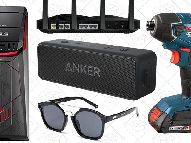 Today's Best Deals: Amazon Tech Bonanza, Anker SoundCore 2, Bosch Tools, and More
